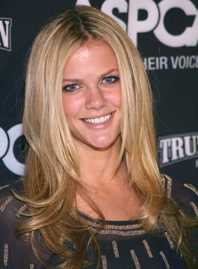 Brooklyn Decker Long, Straight, Sexy, Blonde Hairstyle