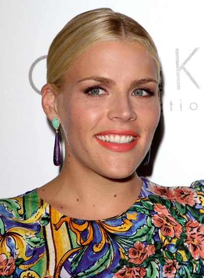Busy Philipps' Chic, Sophisticated, Blonde, Updo Hairstyle