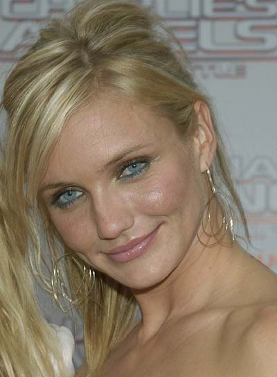 Cameron Diaz Straight, Blonde, Sexy Ponytail