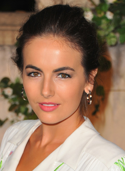 Camilla Belle Romantic, Straight, Brunette Updo