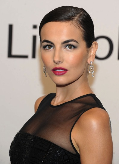 Camilla Belle Chic, Straight, Sophisticated, Brunette Updo