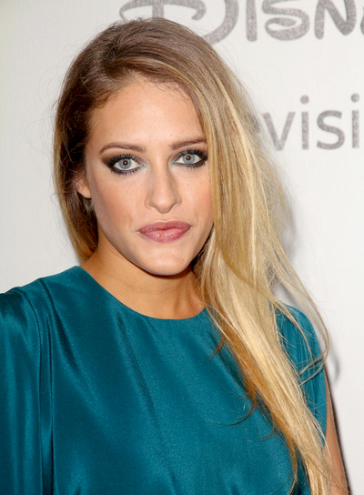 Carly Chaikin's Long, Straight, Blonde, Romantic Hairstyle