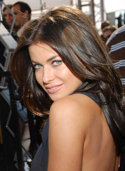 Carmen Electra Long, Layered Hairstyle
