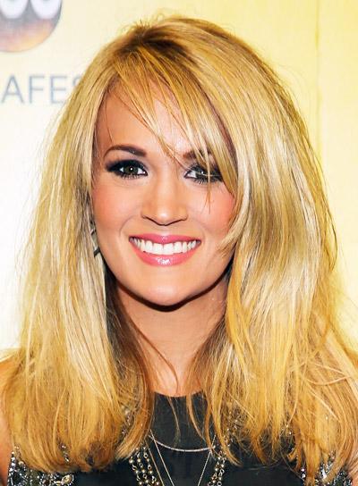 Pleasant Carrie Underwood Beauty Riot Short Hairstyles Gunalazisus