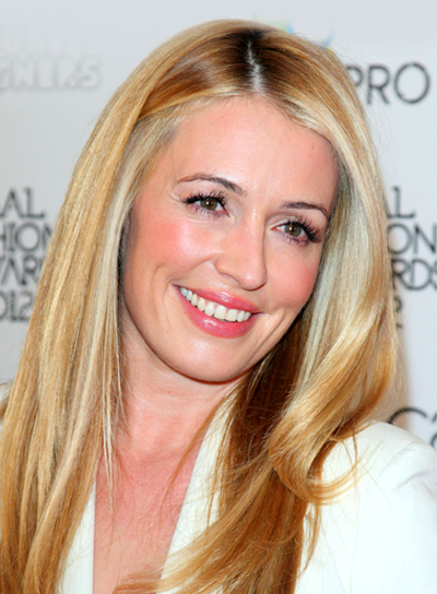 Cat Deeley's Long, Blonde, Romantic, Straight Hairstyle