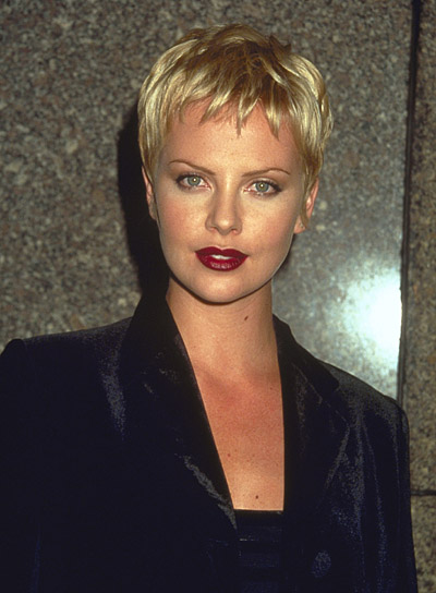 Charlize Theron's Short, Edgy Hairstyle