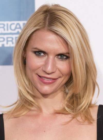 Claire Danes's Medium, Chic, Blonde, Bob Hairstyle