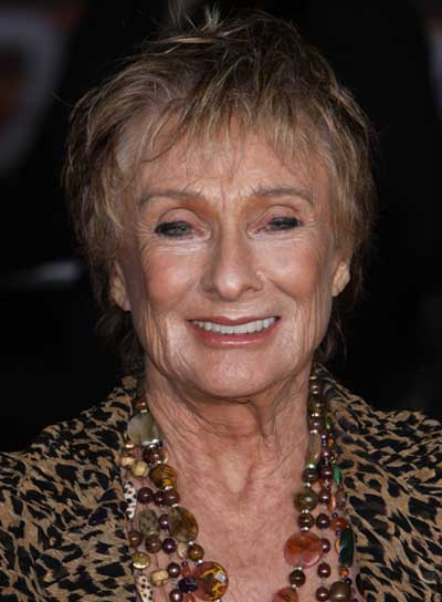 Cloris Leachman Short, Blonde Hairstyle