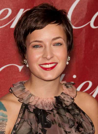 Diablo Cody Short, Brunette Hairstyle