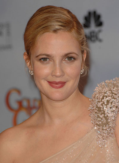 Drew Barrymore Chic, Blonde Updo