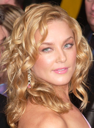 Elizabeth Rohm Curly, Formal Hairstyle
