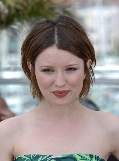 emily browning face shape