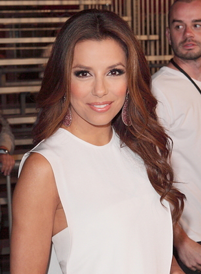 Eva Longoria Curly, Sophisticated Hairstyle