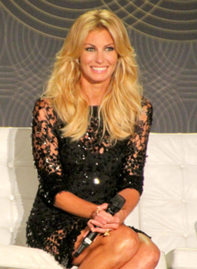 Faith Hill's Sexy, Blonde, Tousled, Wavy Hairstyle