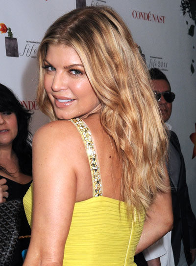 Fergie Long, Wavy Hairstyle