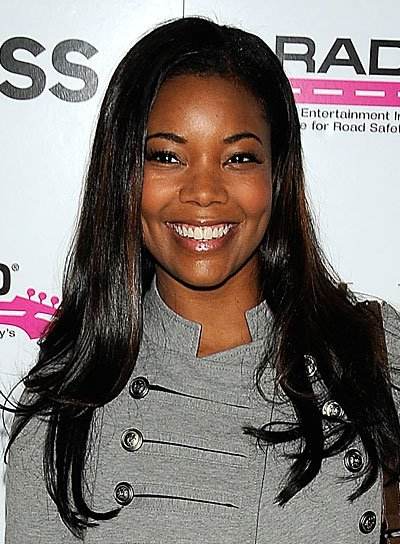 Gabrielle Union Long, Straight, Black Hairstyle