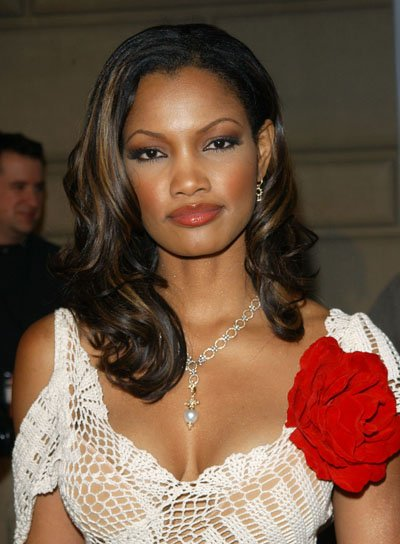 Garcelle Beauvais Long, Wavy, Black Hairstyle