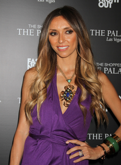 Giuliana Rancic Long, Curly Hairstyle
