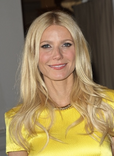 Gwyneth Paltrow Long, Tousled, Blonde Hairstyle