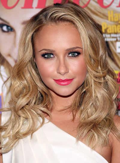 Hayden Panettiere Long, Blonde, Wavy Hairstyle