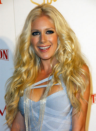 Heidi Montag Long, Curly, Blonde Hairstyle