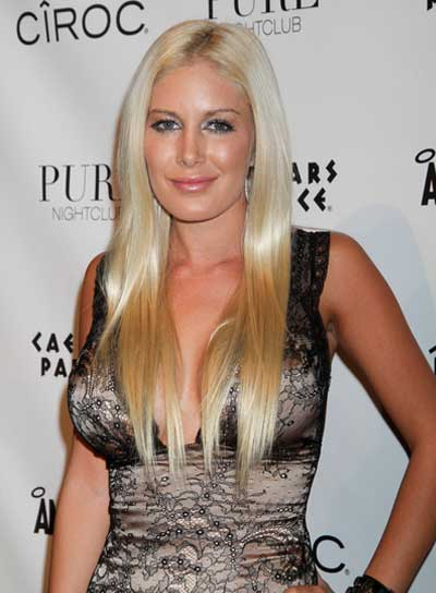 Heidi Montag Long, Blonde, Straight Hairstyle