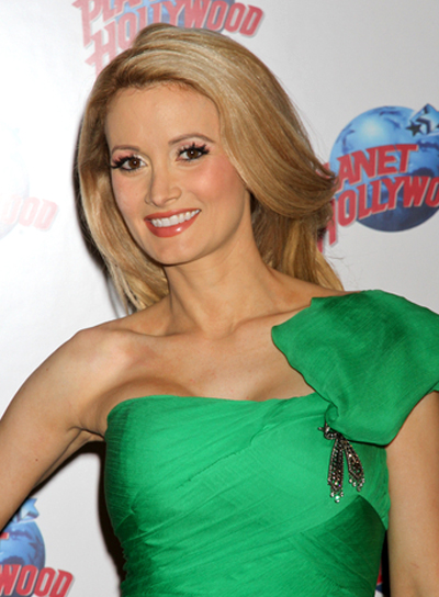 Holly Madison's Long, Wavy Chic, Blonde Hairstyle