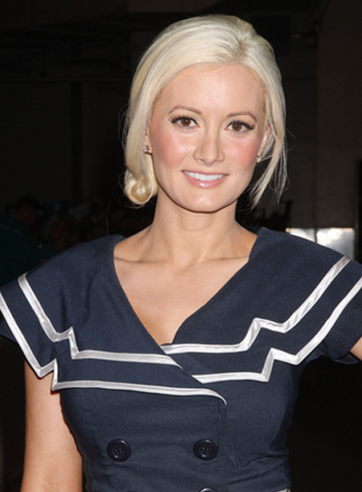 Holly Madison Romantic, Chic Updo