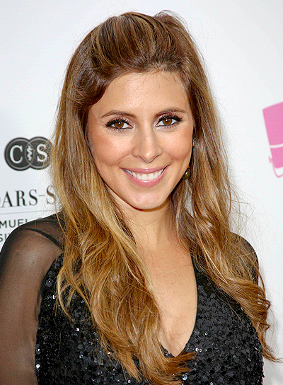 Jamie-Lynn Sigler's Long, Brunette, Wavy, Romantic Hairstyle