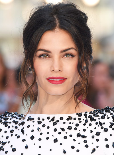 Jenna Dewan's Long, Wavy, Romantic, Black, Ponytail Hairstyle