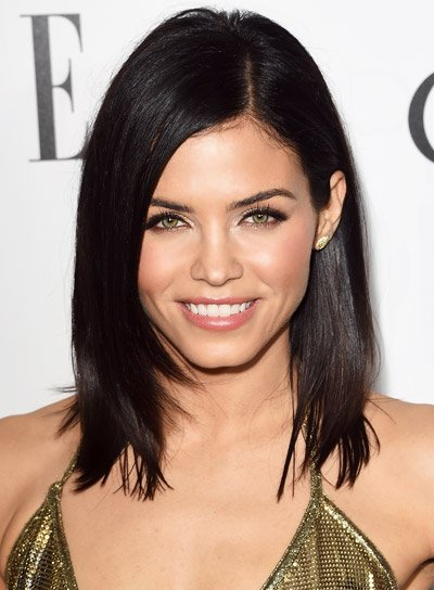 Jenna Dewan with a Short, Black, Straight, Bob Hairstyle Pictures