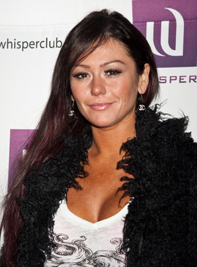 "Jenni ""Jwoww"" Farley Long, Straight, Sexy, Brunette Hairstyle"