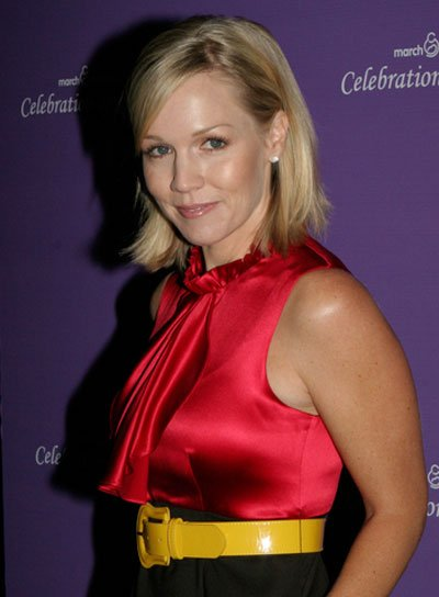 Jennie Garth Short, Straight, Blonde Hairstyle