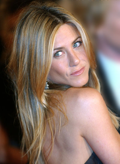 Jennifer Aniston Long, Tousled, Sexy Hairstyle