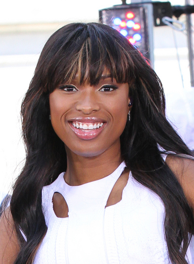 Jennifer Hudson Long, Black Hairstyle with Bangs