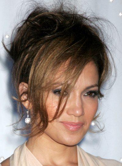 Jennifer Lopez Funky Updo