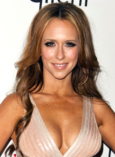 Jennifer Love Hewitt's Long, Curly, Romantic, Brunette Hairstyle
