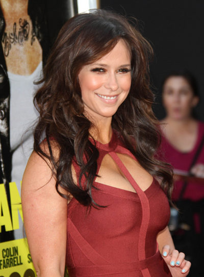 Jennifer Love Hewitt Long, Curly, Sophisticated, Brunette Hairstyle