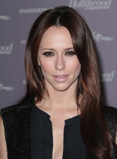 Jennifer Love Hewitt Long, Straight, Chic, Sophisticated, Brunette Hairstyle
