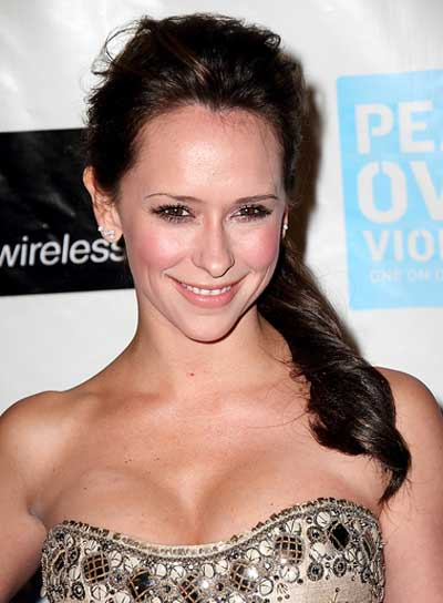 Jennifer Love Hewitt Romantic, Brunette Ponytail