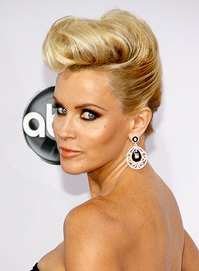 Jenny McCarthy's Blonde, Chic, Romantic, Funky Hairstyle