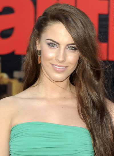 Jessica Lowndes Long, Brunette Hairstyle