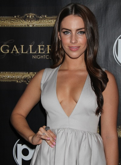 Jessica Lowndes Long, Wavy, Romantic, Brunette Hairstyle
