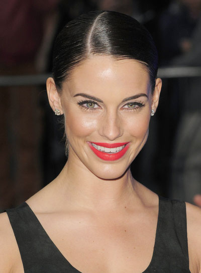 Jessica Lowndes Straight, Sophisticated, Chic, Prom Ponytail