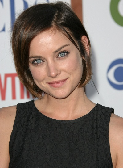 Short bob hairstyles beauty riot jessica stroup short straight chic brunette bob urmus Choice Image