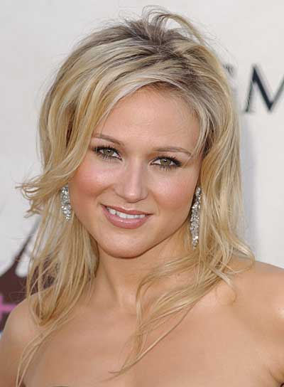 Jewel Tousled, Blonde Hairstyle for Fine Hair