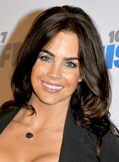Jillian Murray's Long, Brunette, Wavy, Romantic Hairstyle