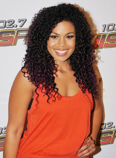 Jordin Sparks Sophisticated, Curly Hairstyle