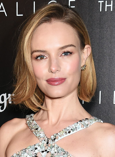 Kate Bosworth with a Short, Blonde, Sophisticated, Wavy Hairstyle Pictures