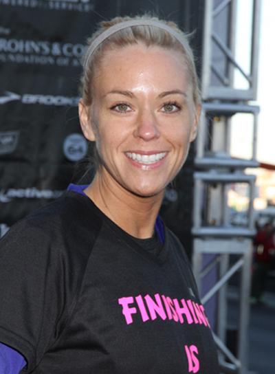 Kate Gosselin Tousled, Blonde Updo